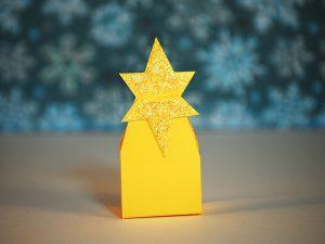 Stern als Verpackung für Ferrero Küsschen