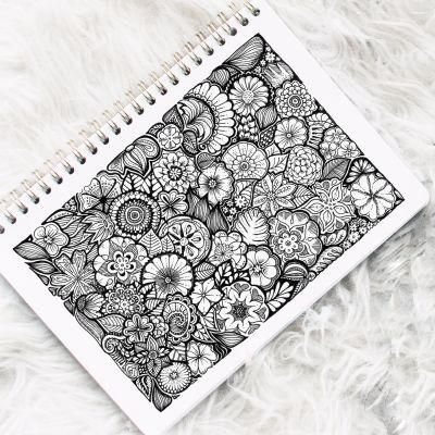 Florales Doodle
