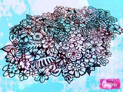 Doodle floral bunt