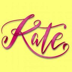 Kate iPad Lettering