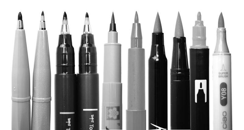 Welcher der Stifte ist der Richtige?