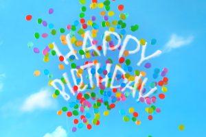 happy birthday - iPad Lettering | Bunte Galerie
