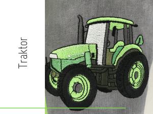 Schultüte Traktor