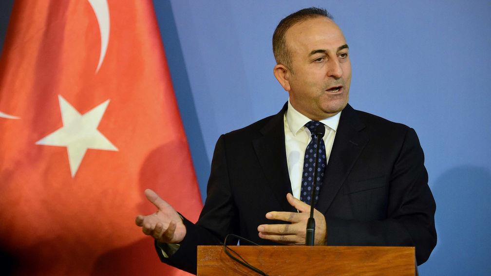 Cavusoglu Turchia