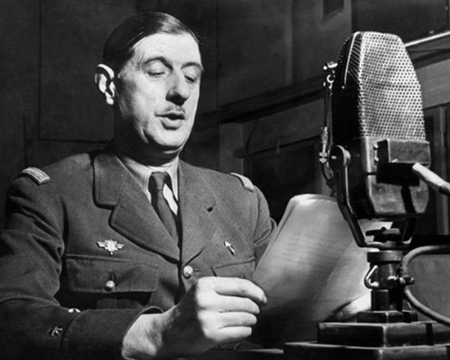 Charles De Gaulle elezioni legislative in Francia