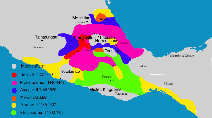 cortés impero azteco