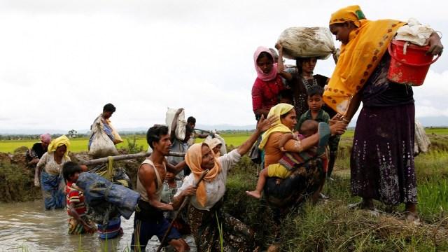 rohingya confine bangladesh