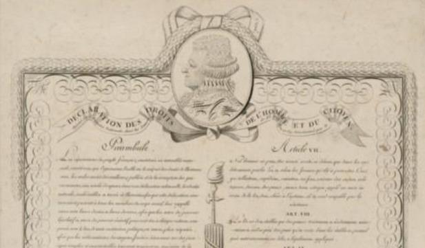 diritti uomo manoscritto