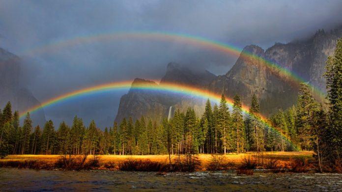 cielo arcobaleno yosemite