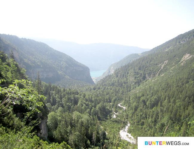 Tolle Aussicht - Molveno - Val del Seghe