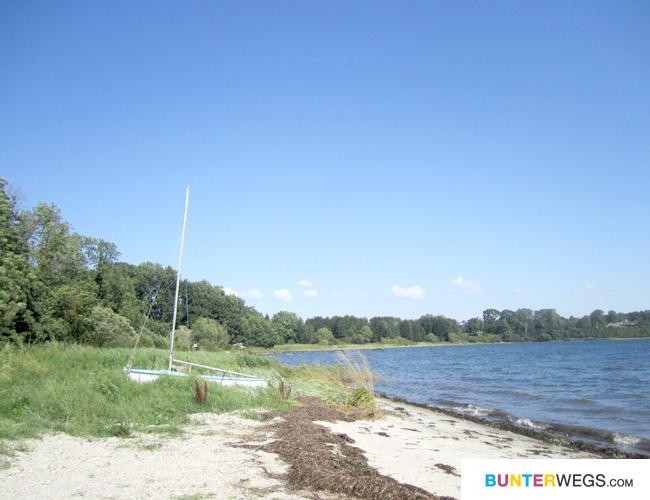 Immer an der Ostsee - Küste in Dänemark entlang - richtig entspannend und tolle Landschft