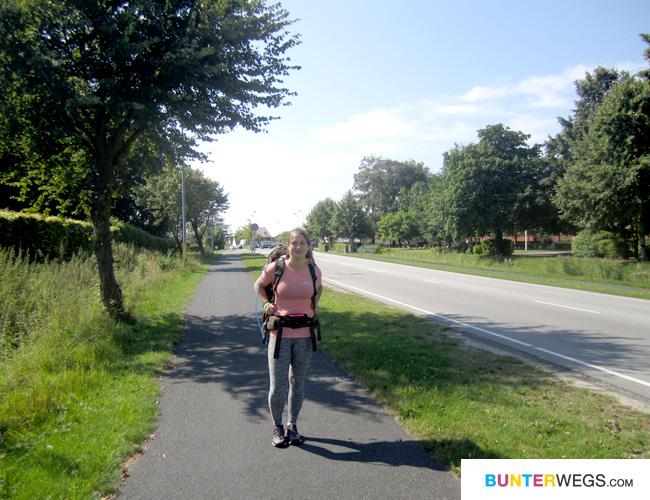 Am Start des Gendarmstien * Jessie von BUNTERwegs.com