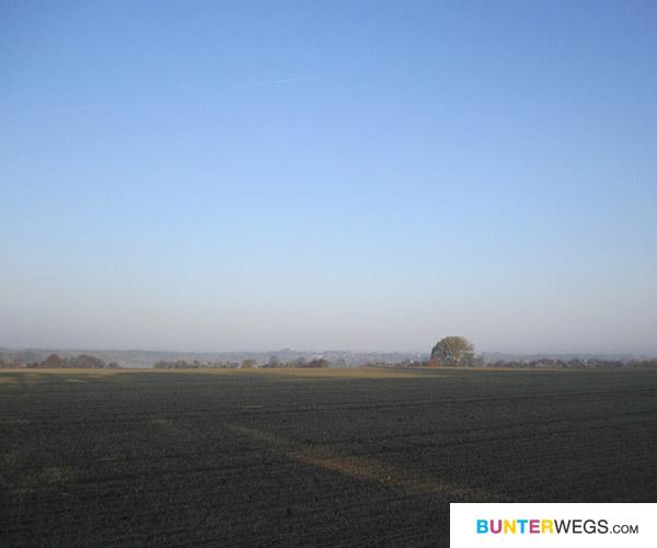 was für eine Landschaft - zwischen Jüterbog und Annaburg * BUNTERwegs