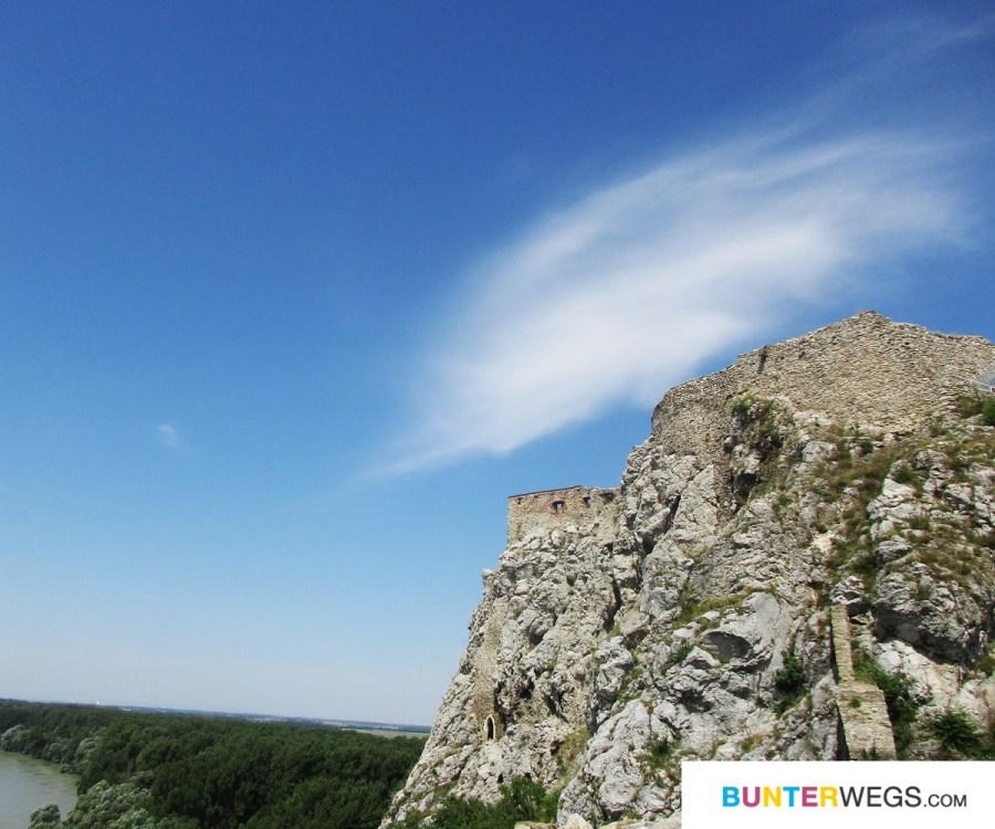 Devin Castle, Bratislava, Slowakei * BUNTERwegs. Der Outdoorblog für Frauen mit Liebe zum Wandern und zur Street Art