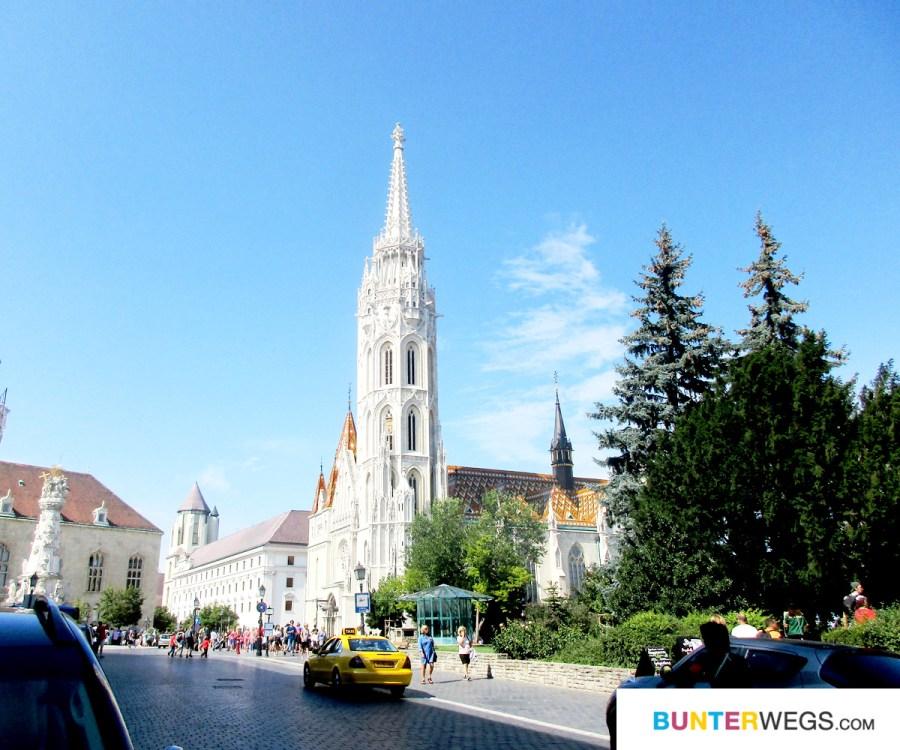 Die Matthiaskirche in Budapest, Ungarn * BUNTERwegs. Der Outdoor Blog für Frauen mit Liebe zum Wandern und zur Street Art
