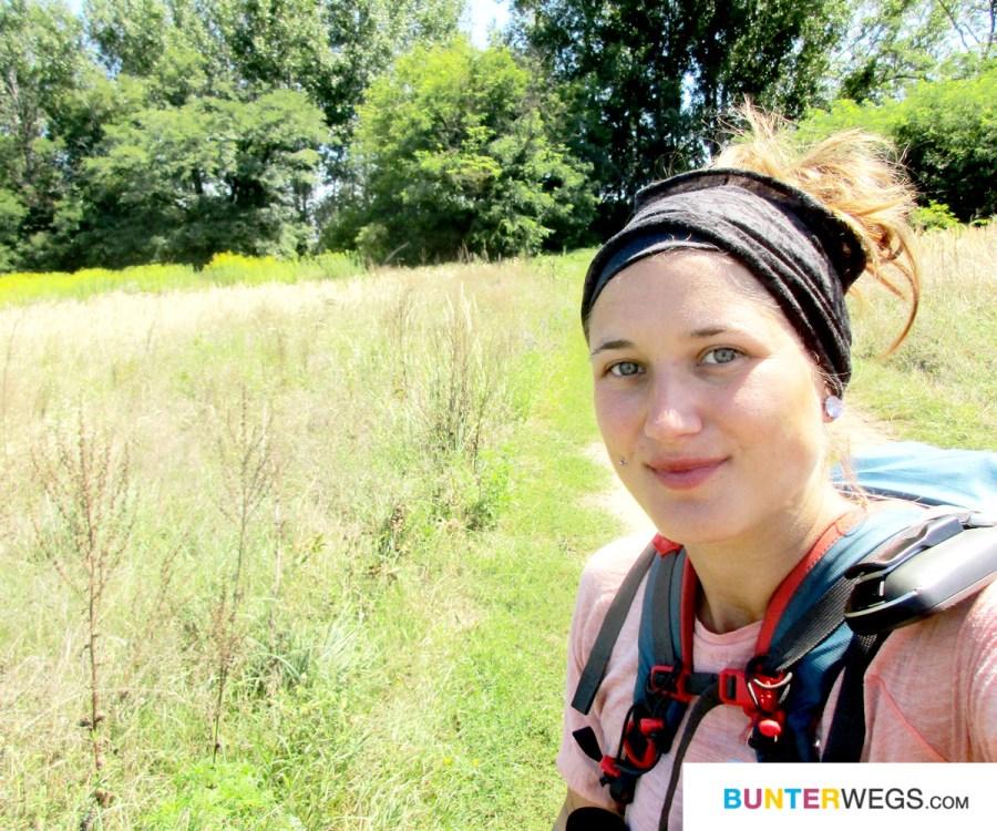 Jessie von BUNTERwegs * Wandern zwischen Budapest und Ócsa, Ungarn * BUNTERwegs. Der Outdoor Blog mit Liebe zum Wandern und zur Street Art