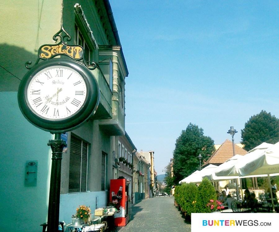 Sibiu, Rumänien * BUNTERwegs. Der Outdoor Blog für Frauen mit Liebe zum Wandern und zur Street Art