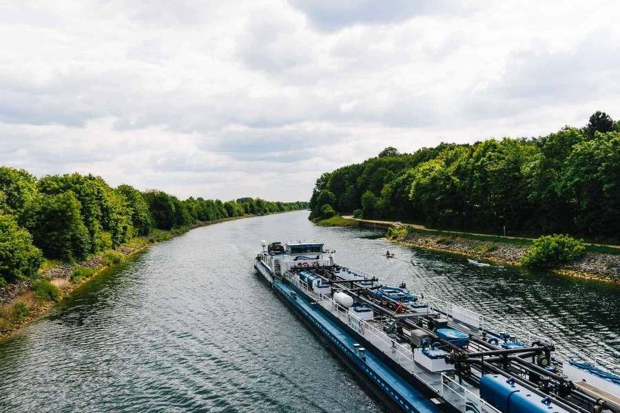 Am Kanal in Haltern