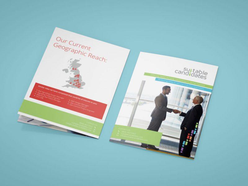 corporate leaflet design