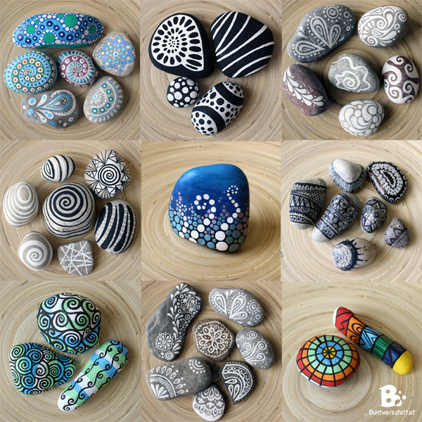 Steine Bemalen – Maltherapie