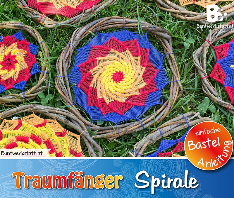 Anleitung Traumfänger Spirale