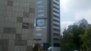 Балкон будинку на вулиці Яроша.