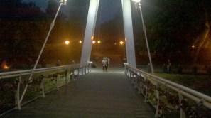 Міст закоханих з колодками