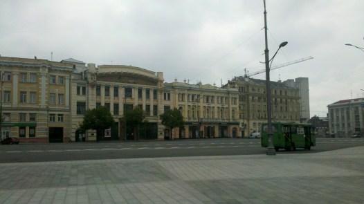 Будинки на площі конституації.
