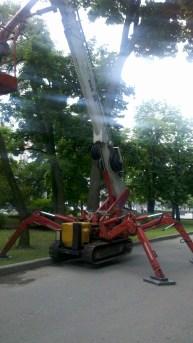 Крокуючий робот. :)