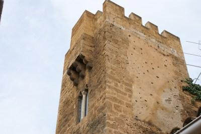 La torreta (detalle)
