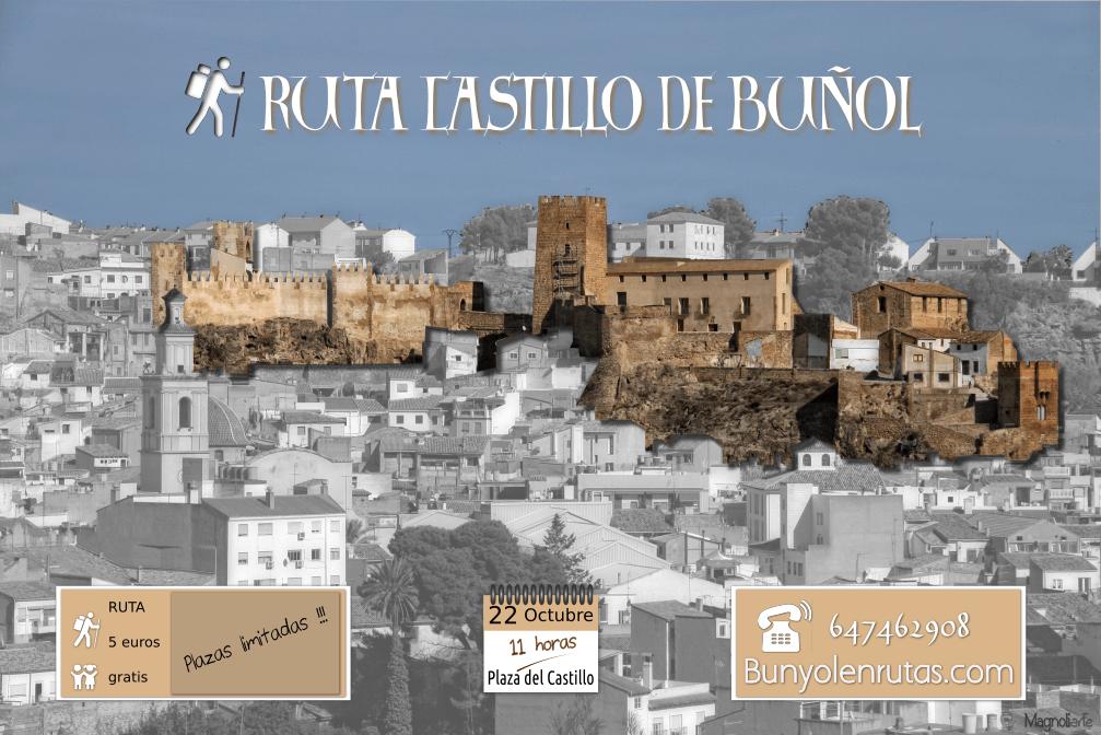 Ruta al Castillo de Buñol 22 Octubre