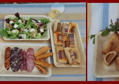 Visita al Castillo y menú degustación productos locales