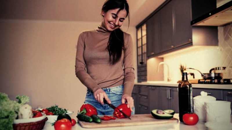 Le donne che amano cucinare hanno le anime più belle e pure