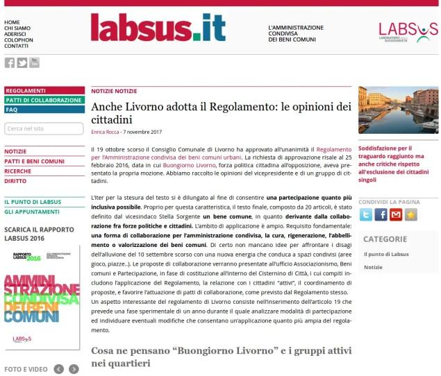 Dal sito Labsus.it