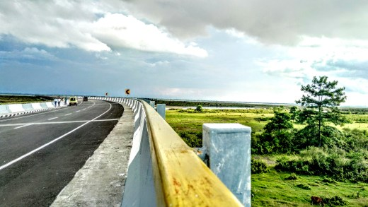 The Dhola Sadia Bridge
