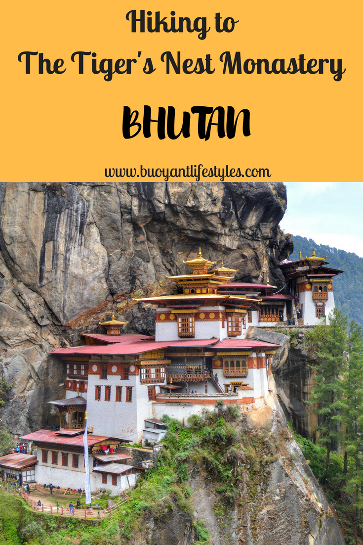 My experience of hiking to The Tiger's Nest Monastery in Paro, Bhutan