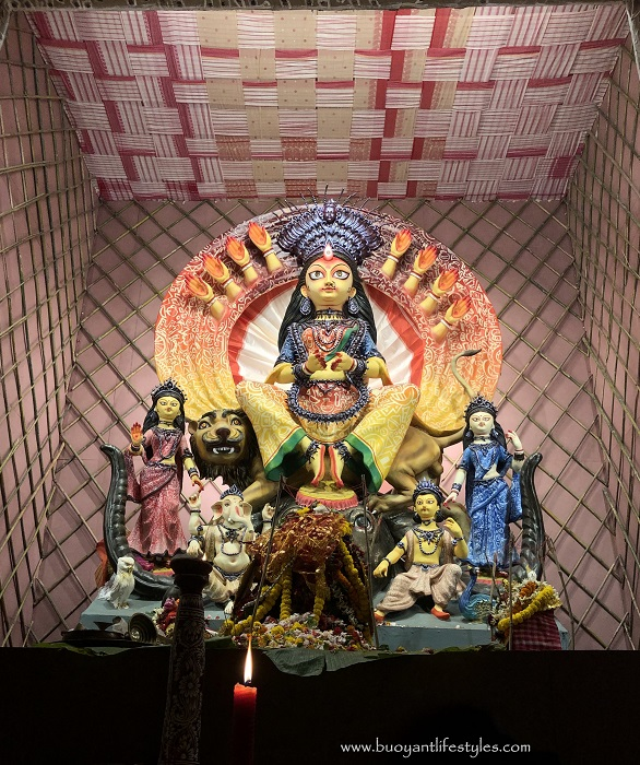 Durga Puja in Kolkata, my First Experience- A Photo Blog