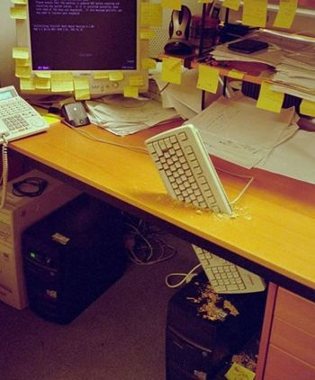 Keyboardfrustration