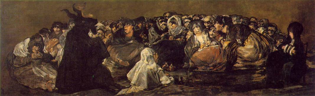 The Witches by Goya