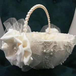 Cesta para Florista Vintage em casamentos estilo boho.