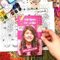 Virginia De Giglio, Conosciamoci meglio, il libro total pink che ho illustrato