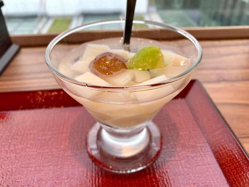 浜松餃子 錦華のデザート