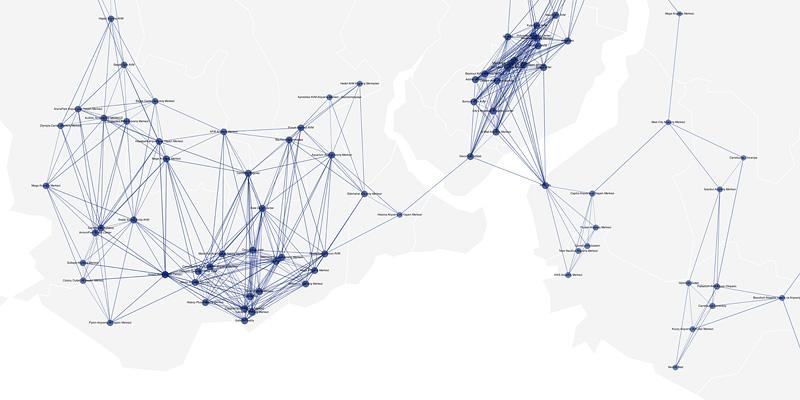 Network of Shopping Malls, Istanbul Design Biennale 2012, Burak Arikan