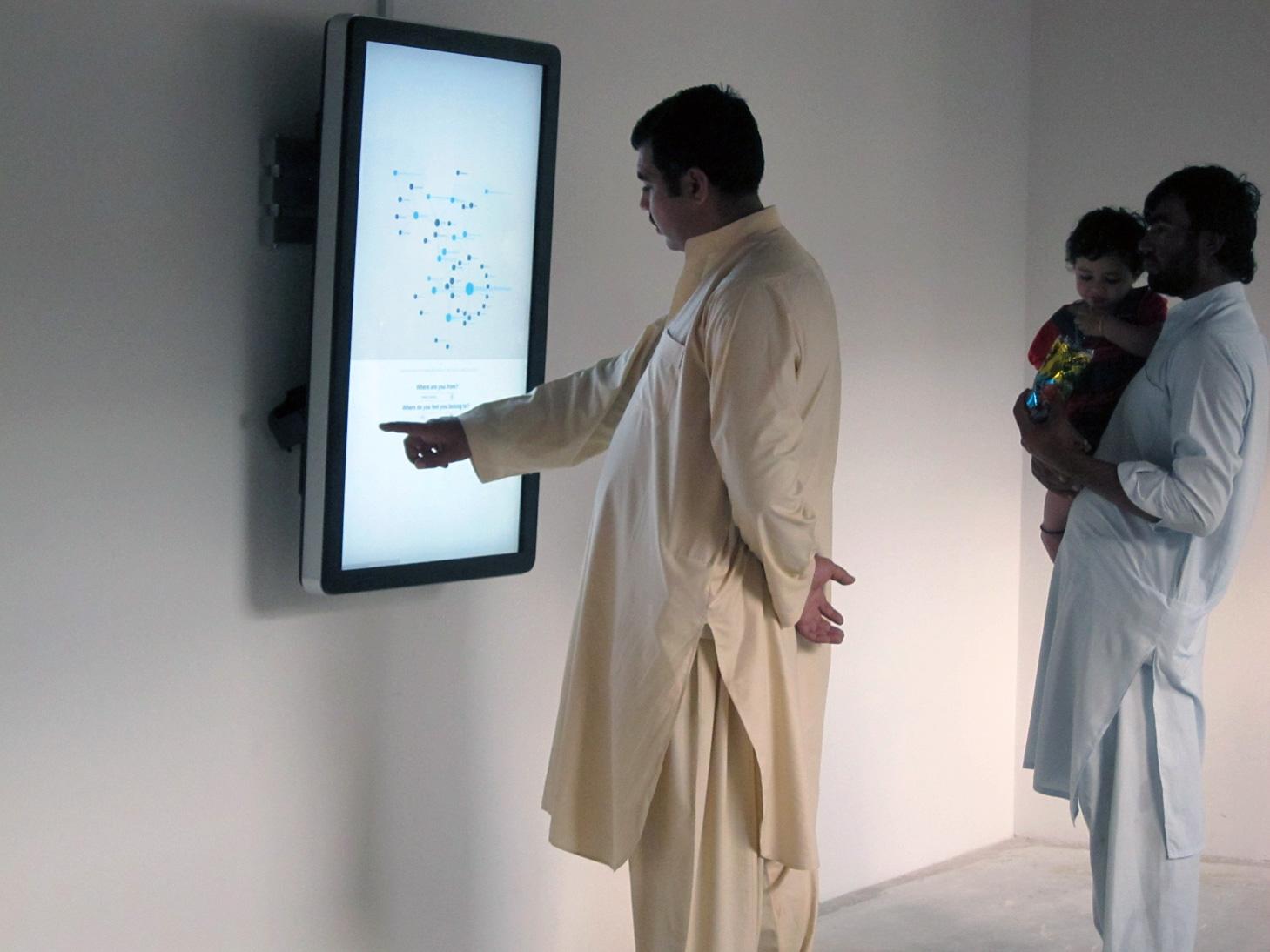 Exhibition view 11th Sharjah Biennial, 2013.