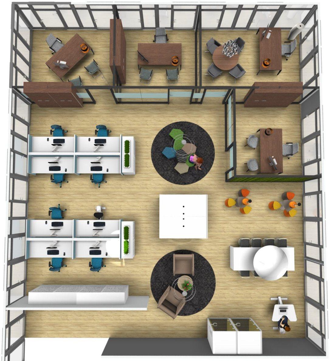 aménagement du bureau professionnel Burama