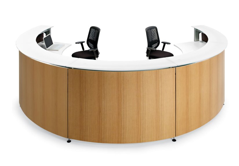 comptoir et banque d'accueil mobilier de bureau professionnel Burama 4