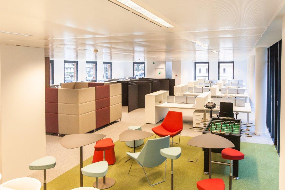Aménagement de bureaux Soft seating