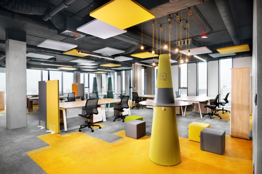 Panneaux acoustiques pour plafond