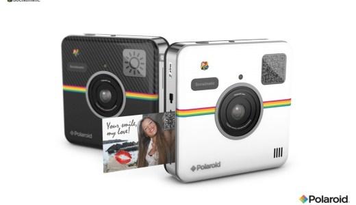 キュートで可愛いデザイン!Instagramのような風貌のデジタルインスタントカメラ『Socialmatic』が2014年秋頃に発売されるそうです!