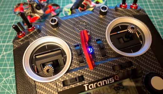 愛用の送信機(プロポ)Taranis Q X7Sをイメチェンして Whoopテンションもアップ!